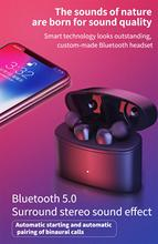 sluchawki Bluetooth ecouteurs New Arrived IPX5 Waterproof TWS T6 Headset 5.0 Stereo True Wireless fones auricular