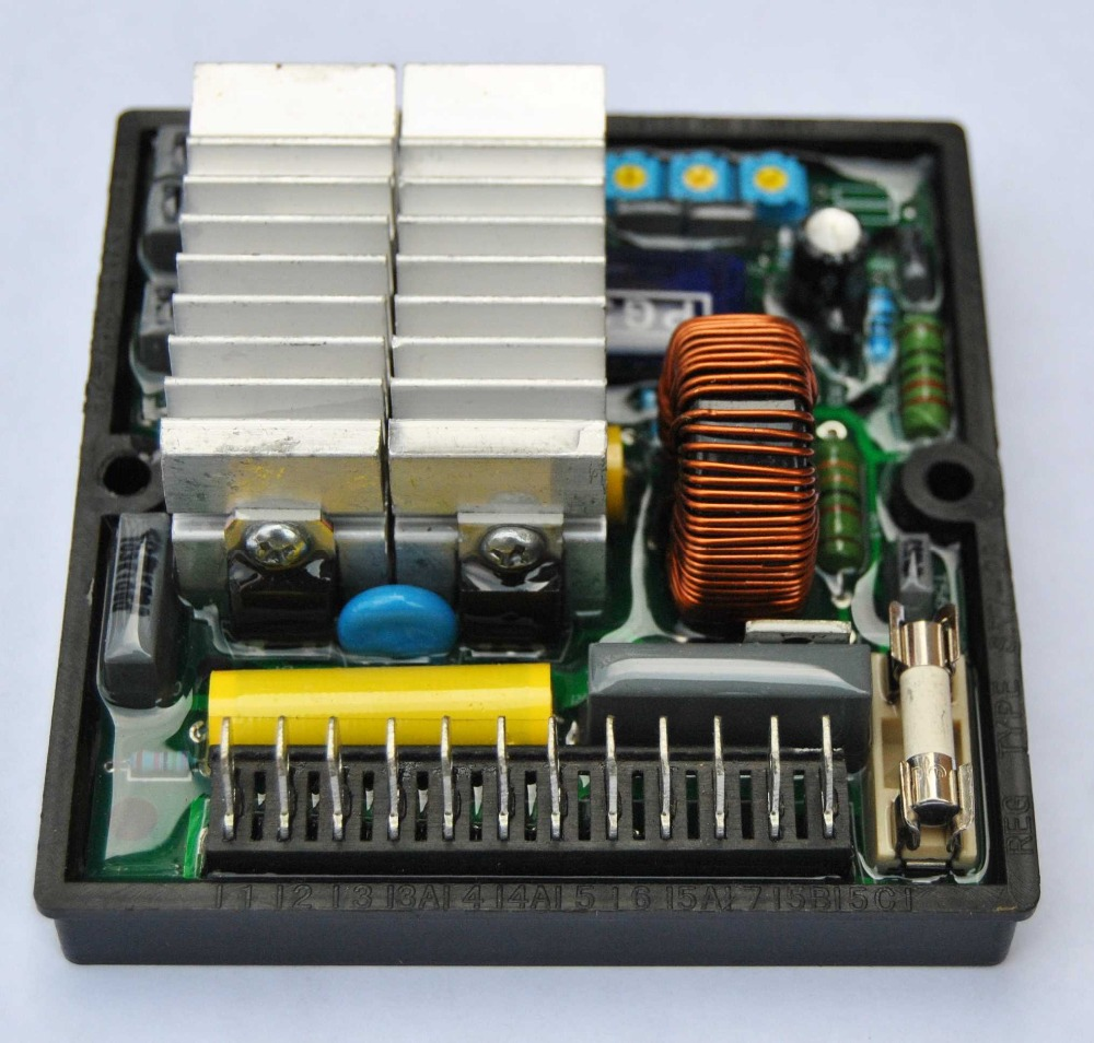 AVR SR7, AVR SR7 2G Voltage Regulator AVR SR7-2G For Generator automatic voltage regulator avr sr7 sr7 2g for mecc alte meccalte generator