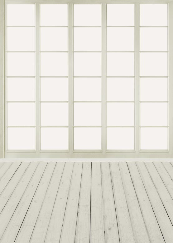 Simple grid window photo background traditional photography backdrop for family photo studio photographic props S-872