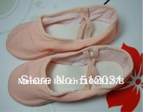 брезент балет обувь