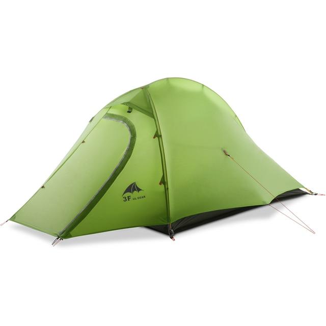 3F UL GEAR Ultralight tent 15D 1-2 Person 4 Season hiking trekking