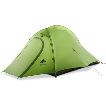 3F Ul Gear Outdoor Ultralight Carpas 15D Camping Tent 1-2 Persoon 4 Seizoen Tenda Tente Wandelen Vissen Strand barracas Para Camping