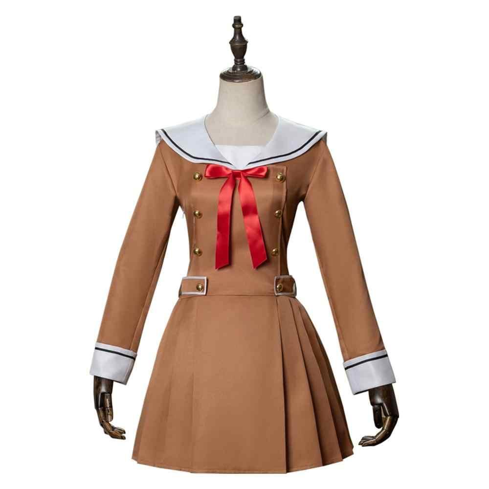 מפץ חלום קוספליי Poppin' מסיבת Jk שמלה אחידה ארוך שרוול סיילור תלבושות ליל כל הקדושים קרנבל מותאם אישית
