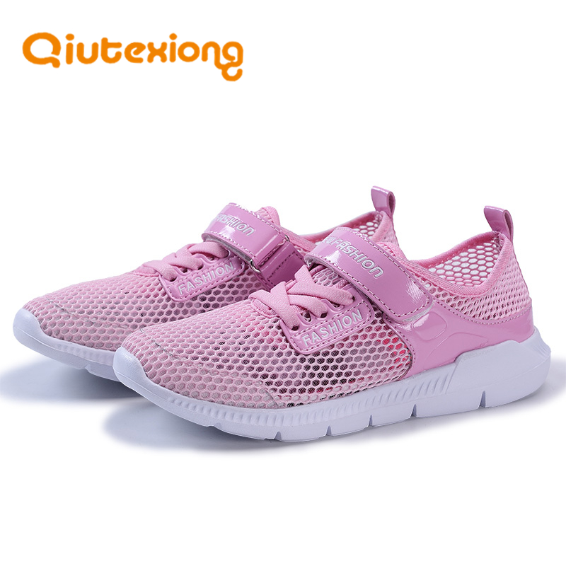 QIUTEXIONG Children Shoes Girls Sneakers Boys Casual Shoes For Kids Trainer Spring Autumn Footwear Comfortable Student School