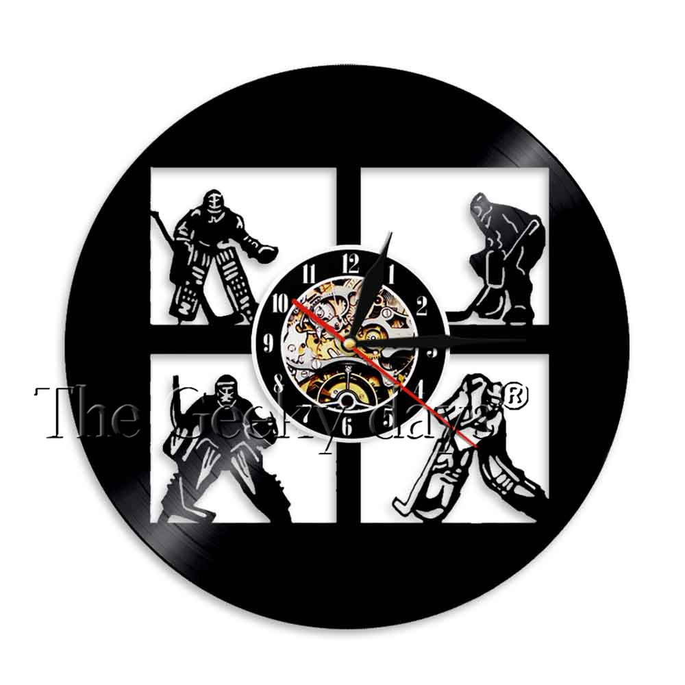 1piece ice hockey led vinyl record wall clock sport led light wall 1piece ice hockey led vinyl record wall clock sport led light wall light hockey led backlight mood lighting hockey coach gift in led indoor wall lamps from mozeypictures Gallery