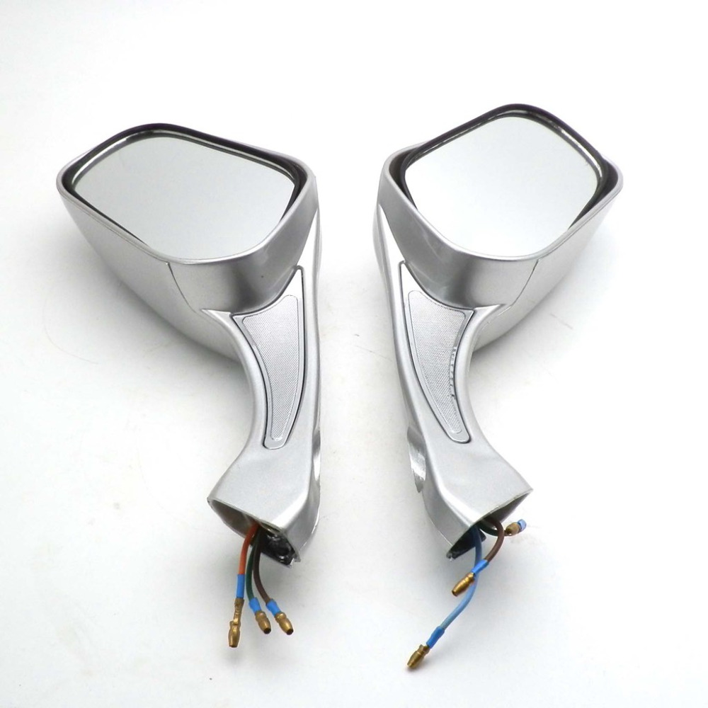 Motorcycle 8mm Adjustable Mirror Left/&Right for GY6 Scooter Moped 50cc-250cc