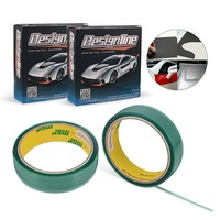 EHDIS 2 Roll 35mmx50m Knifeless Tape Design Line Car Wrapping Graphics Tape Vinyl Foil Film Sticker Wrap Cut Decoration Tape