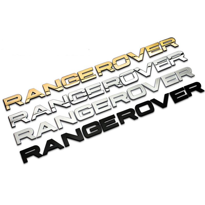 Discount 1PC Head Cover Car Stickers for Land Rover Range