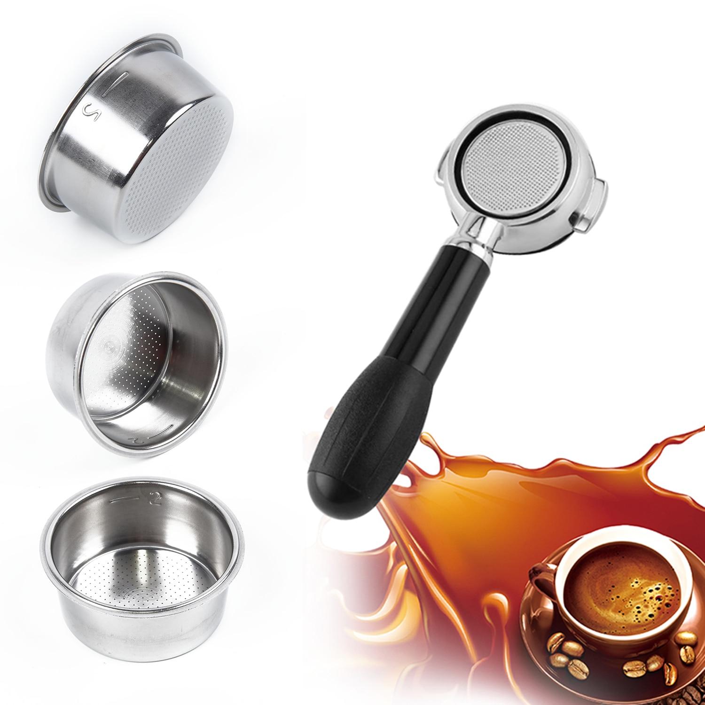 Чашка Фильтра для кофе 51 мм без давления корзина фильтра для Breville Delonghi фильтр Krups продукты для кофе кухонные аксессуары