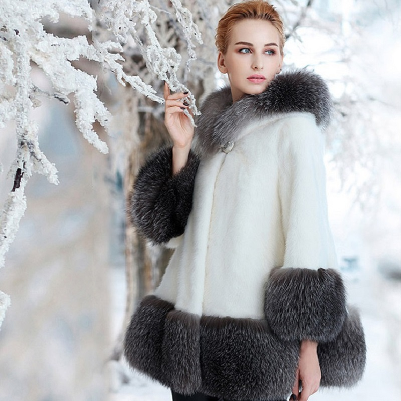 New winter women's jacket High imitation fur overcoats maternity winter clothing pregnancy jacket warm clothing 5089