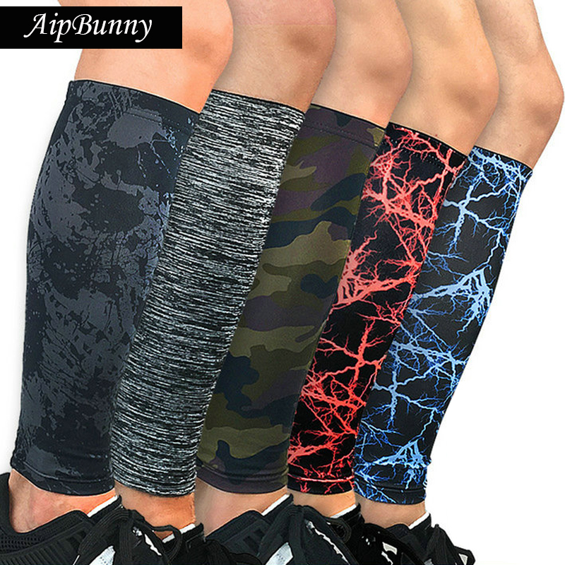 1Pair Running Cycling socks Legwarmers Football Calf Compression Sleeves Outdoor Bike Sports compressport Knee Pads protector