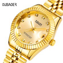 2018 NEW OUBAOER Fashion Women's Watches Luxury Quartz Watch Ladies Wrist Watches Stainless Steel Bracelet Women Watch Gift Box