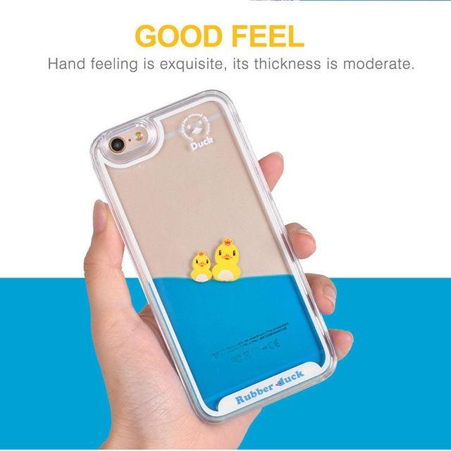 coque iphone 7 liquide canard