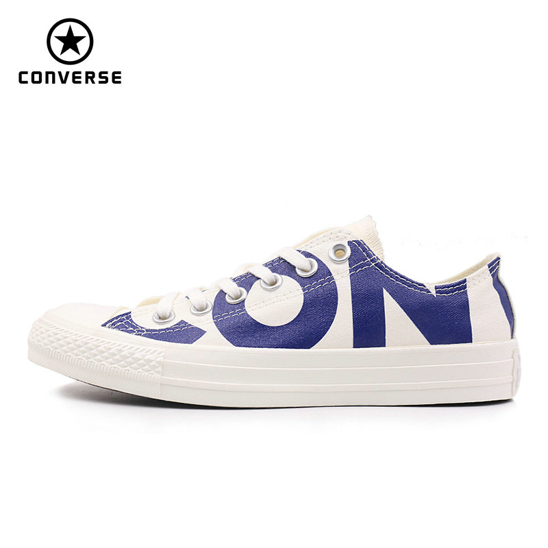 Converse 2018 new spring autumn Big letters sneakers man and women Unisex blue color Skateboarding Shoes 159535CConverse 2018 new spring autumn Big letters sneakers man and women Unisex blue color Skateboarding Shoes 159535C