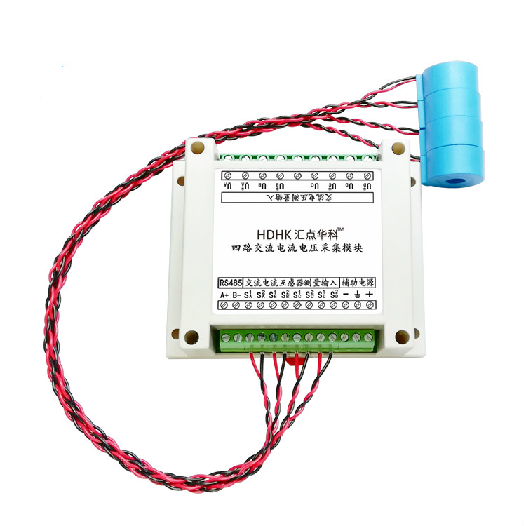 4 Way AC Current, Voltage, Frequency and Power Mutual Inductance Acquisition and Measurement Transmitter Transducer RS485 Module4 Way AC Current, Voltage, Frequency and Power Mutual Inductance Acquisition and Measurement Transmitter Transducer RS485 Module