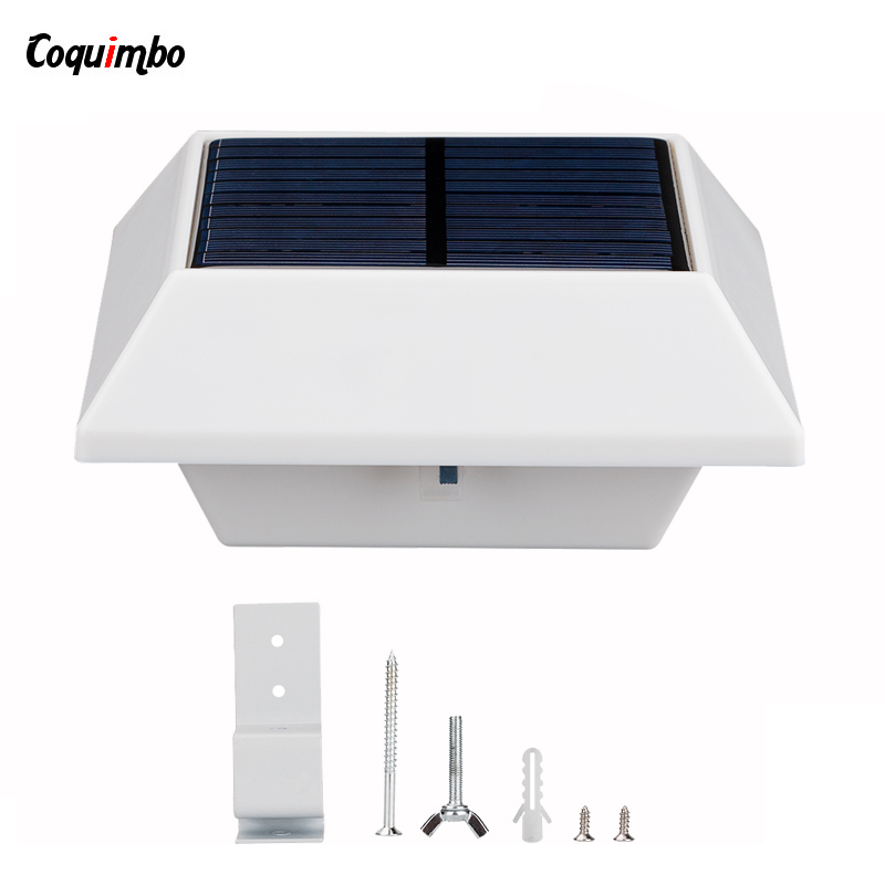 4/6 LED Solar Lamp Garden Light Outdoor Wireless Solar Lighting LED PIR Motion Sensor Eaves Lamps For Garden Outdoor Lights