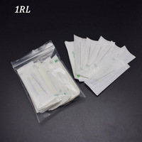 1R Needles Tips Promotional Professional Permanent Makeup Machine Eyebrow Needles With Tips Caps