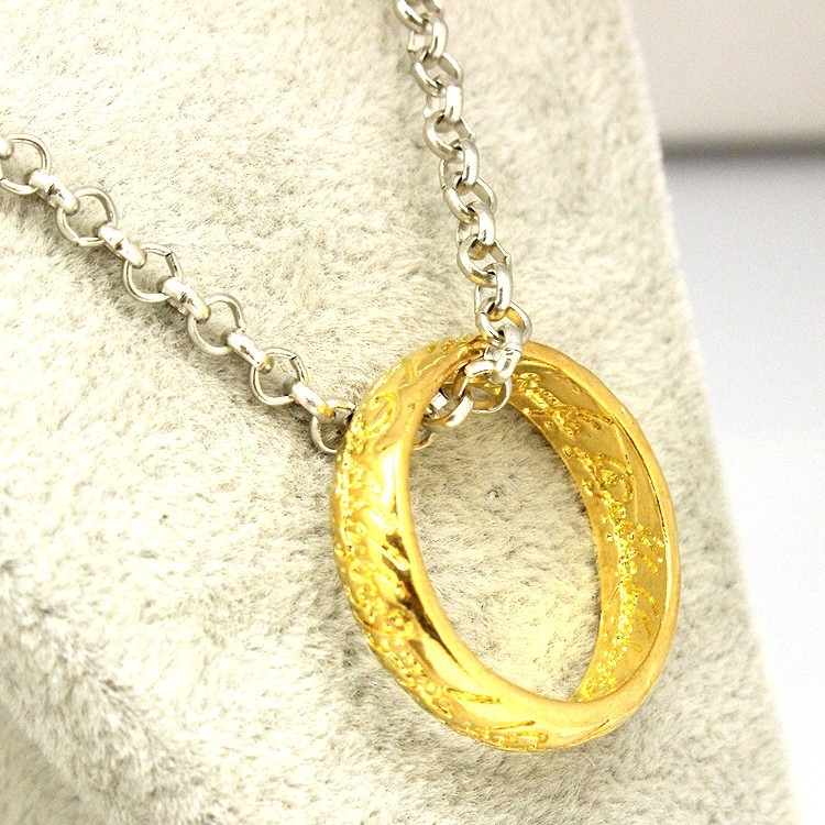 Lord Of The Rings Gold Plated Pendant