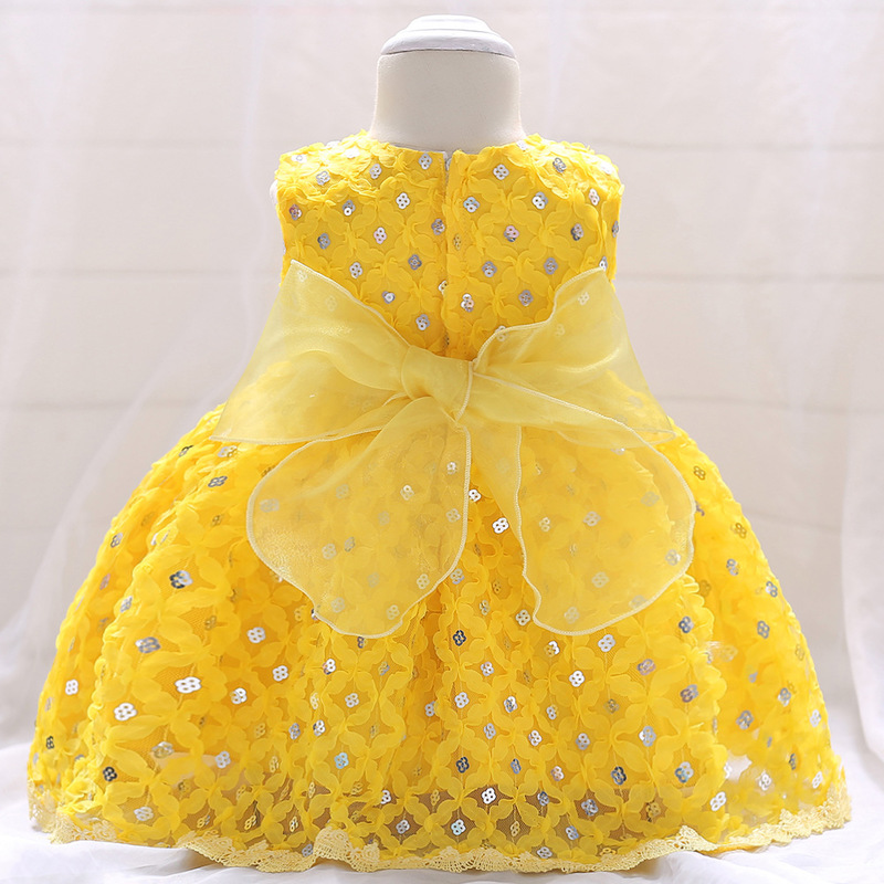 Vintage Baby Dresses 1 2 Year First Birthday Girl Party Infant Dress 2018 Newborn Wedding Baptism Christening Gown For Baby Girl (6)