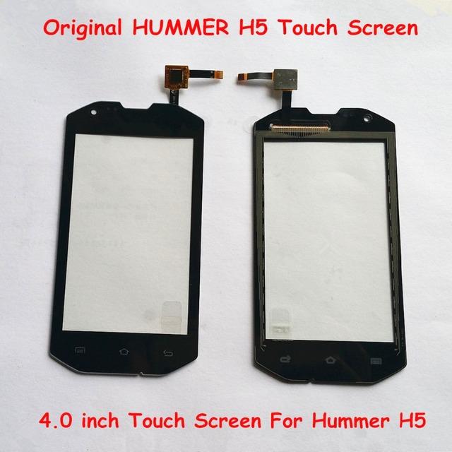 Em Estoque Original Peça De Reposição 4.0 polegada Tela Sensível Ao Toque Para HUMMER H5 Uphone H5 Smartphones