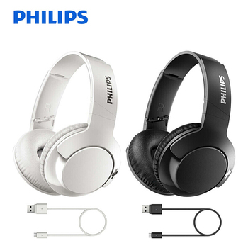 Philips Wireless SHB3175 Headphone with Bluetooth 4.1 Bass+ HD Sound Quality Button Control Support Call & Music Headset