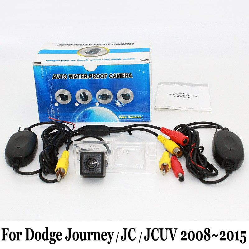 Telecamera per auto senza fili per Dodge Journey / JC JCUV 2008 ~ 2016 / HD Wide Lens Angle CCD Night Vision Vista posteriore Telecamera per parcheggio inverso