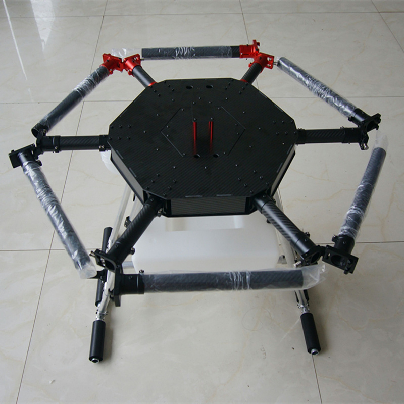 6 Axis 15KG 15L Agricultural Spraying unmanned RC drone empty carbon fiber frame Mist Agriculture Machine