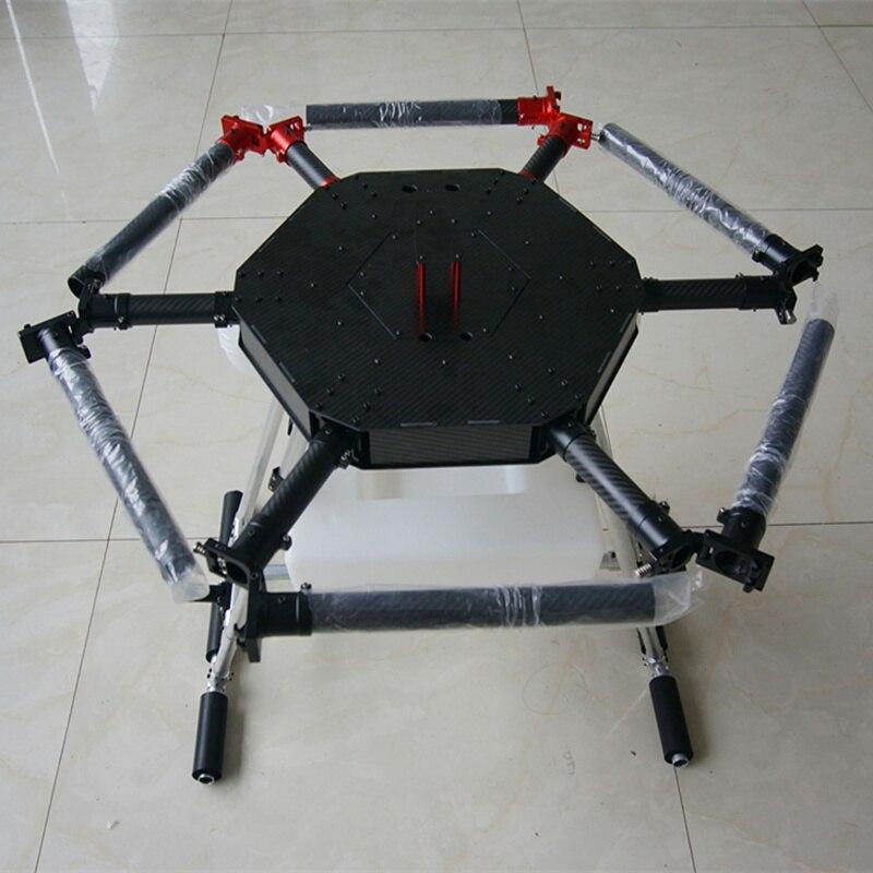 6 محور 15 KG 15L الرش الزراعي بدون طيار RC drone فارغة الكربون الألياف إطار ضباب آلات زراعية UAV إطار-في قطع غيار وملحقات من الألعاب والهوايات على  مجموعة 1