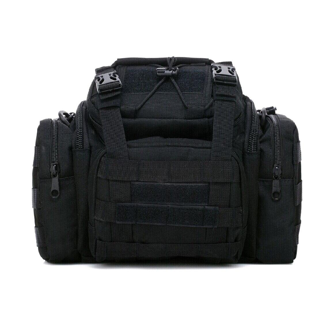 Sea/<font><b>Carp</b></font>/Fly Fishing Tackle Bag Waterproof Storage Waist Shoulder Carry Case Black