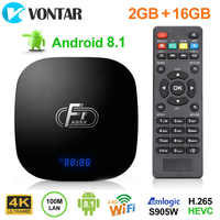 A95X F1 Android 8.1 Smart TV Box Amlogic S905W Box Quad Core for Smart TV Set Top Box Support 4K WiFi Youtube X96 mini H96 max