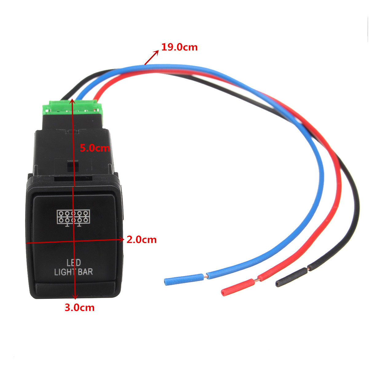 hight resolution of plastic 12v push switch led driving light bar on off rocker toggle switch for nissan navara np300 pathfinder x trail in car switches relays from