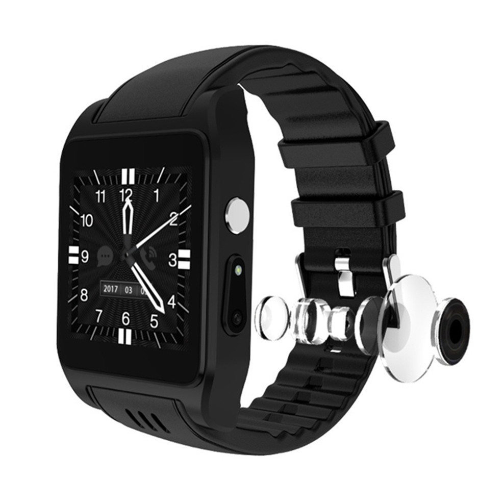Android smart watch wifi positioning Internet application download HD video bracelet bluetooth headset phone call smartwatch image