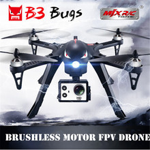 MJX B3 Bugs 3 RC Drone Helicopter Brushless Motor Remote Control Quadcopter with Camera Mount for