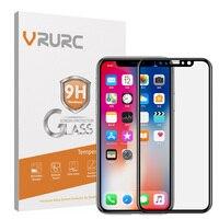 Vrurc 아이폰 6 6 초 7 8 6 7 8 플러스 강화 유리 3D 곡선