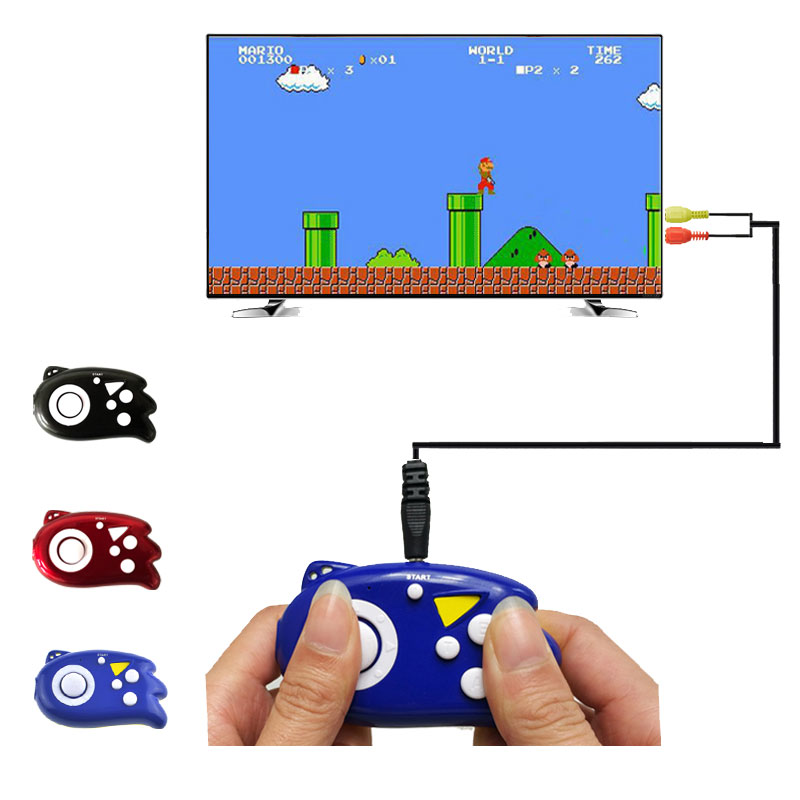 Imagen de 8 Bit Mini Video Game Console Players Built-In 89 Classic Games Support TV Output Plug Handheld Game