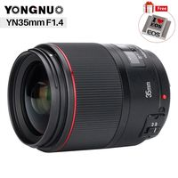 YONGNUO YN35MM F1.4 Standard Wide Angle Lens for Canon Bright Aperture Prime DSLR Camera Lenses for 600D 60D 5DII 5D 500D 400D