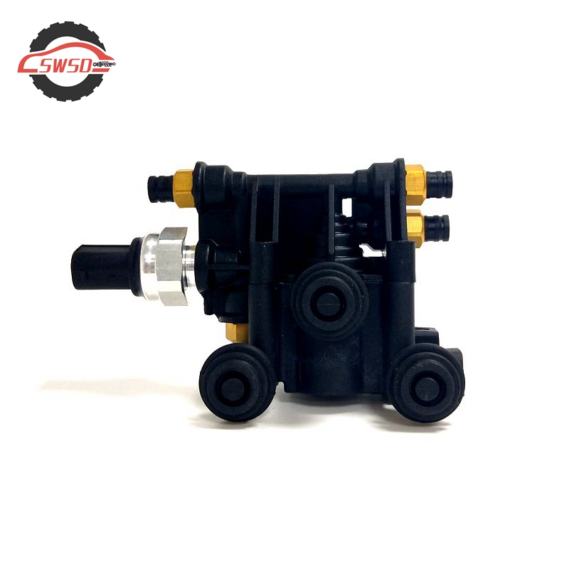 AIR SUSPENSION SOLENOID LEVELLING VALVE BLOCK FOR LAND ROVER RANGE DISCOVERY 3 4  RVH000046AIR SUSPENSION SOLENOID LEVELLING VALVE BLOCK FOR LAND ROVER RANGE DISCOVERY 3 4  RVH000046
