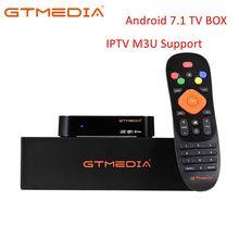 GTmedia G2 smart tv box android 7.1, 4K HDR Quad Core 2G 16G