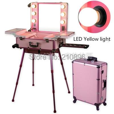 Aliexpress Com Buy Led Yellow Light Pink Professional