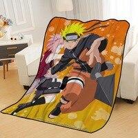 Gepersonaliseerde Dekens Custom Naruto Dekens Voor Bedden Zachte Tr Diy Uw Foto Dropshipping Gooi Reizen Deken
