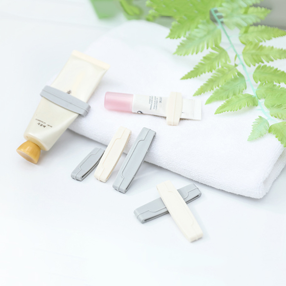 3pcs/set Manual Toothpaste Squeezer Squeeze Tooth Paste Tube Dispenser Toothpaste Clip Cosmetics Cleanser Extruder