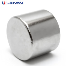 U-JOVAN 25mm x 20mm N35 Super Strong Powerful Round Cylinder Magnets Rare Earth Neodymium Magent Rare Earth NdFeB(China)
