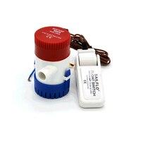 1100gph 12V/24V Volt bilge pump + 1pc bilge switch,submersible boat water pump set