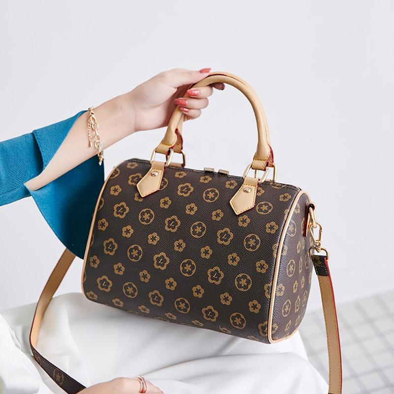 Hot Sale Vintage Leather Ladies HandBags Women Messenger Bags TotesTassel Designer Crossbody Shoulder Bag Boston Hand
