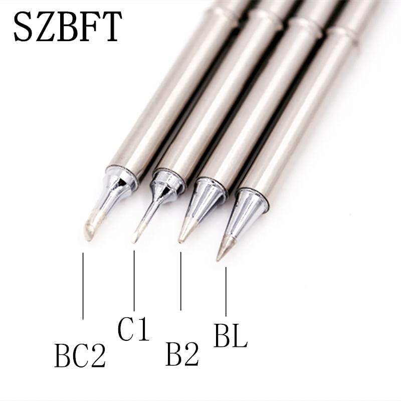 punta t12 per hakko T12-BC2 C1 BL B2 Punte per ferro per saldatura serie T12 Stazione di rilavorazione di saldatura FX-951