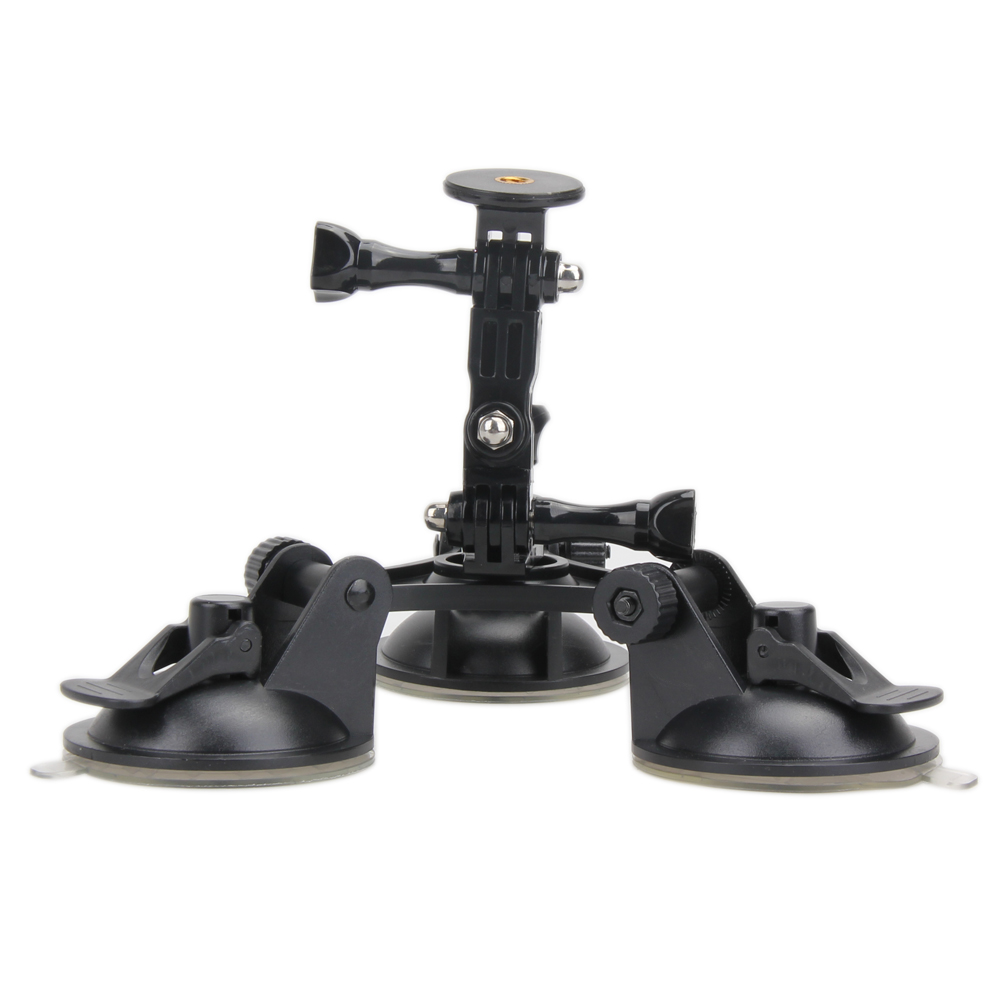 1 4 Screw Suction Cup Tripod Camera Photograph Sucker Car Mount Stabilizer Stand for Gopro Hero