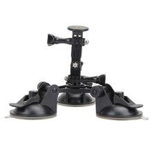 """1/4 """"винт штатив присоска Камера фотография Присоски автомобильное крепление стабилизатор стенд для GoPro Hero 5 4 сеанса/ SJCAM/Yi Камера"""