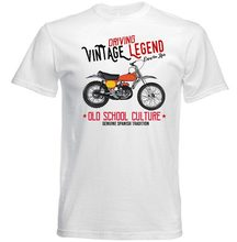 2018 nuevo verano camiseta VINTAGE Español moto BULTACO K360-Nueva Camiseta  de algodón Casual camiseta d235ea2e543f8