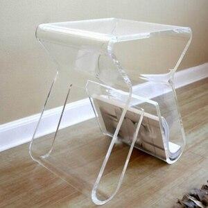 Image 2 - Бесплатная доставка Прозрачный акриловый стол