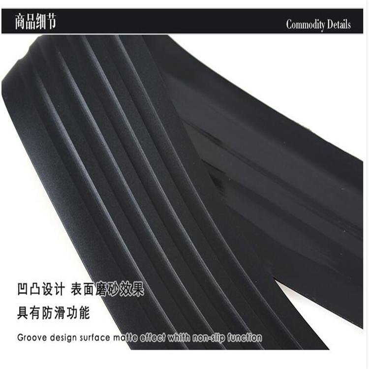 car Rear trunk rubber strip styling Prevent car scratches for Cadillac ATS-L XTS CT6 Plug-in XT5 ESCALADE styling accessories